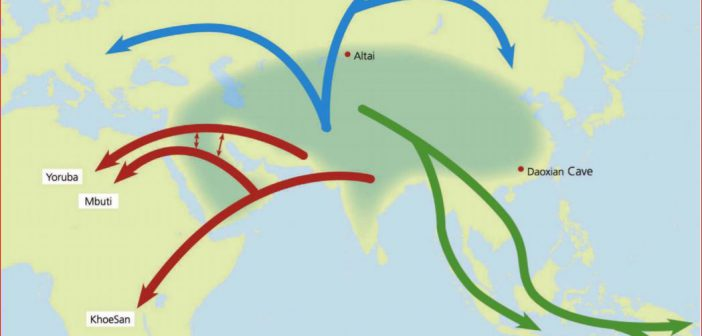 The Out of Europe/Asia & Into Africa Theory of Human Origins – New Paper Calls for Paradigm Displacement